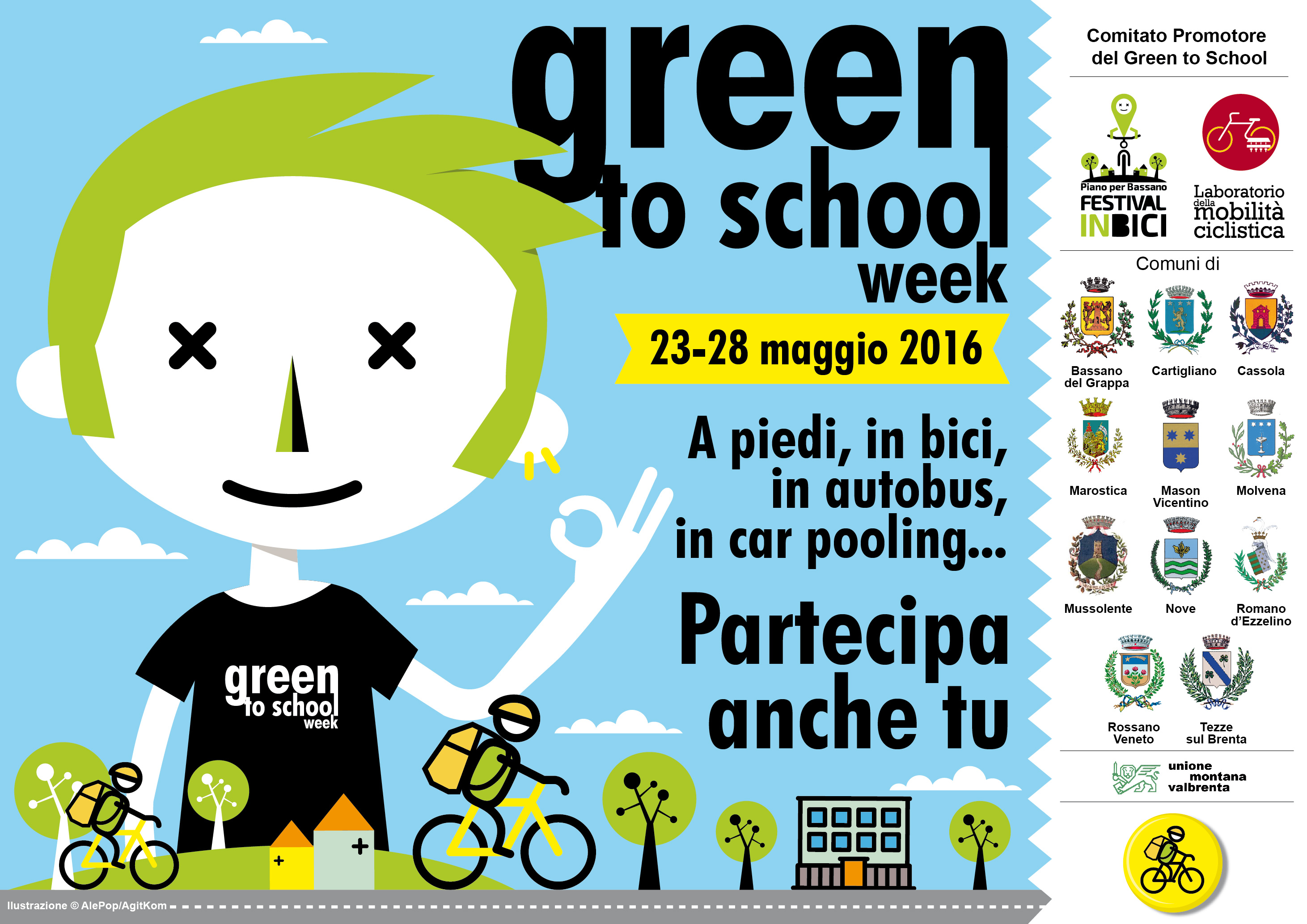 Green to school 2016