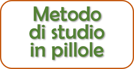 Metodo di studio in pillole